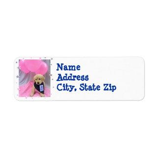 Etiqueta de devolución de WCC Lucy Etiquetas De Remite