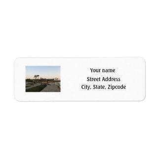 Etiqueta de dirección de Matanzas del fuerte