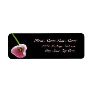 Etiqueta de dirección del tulipán 3272