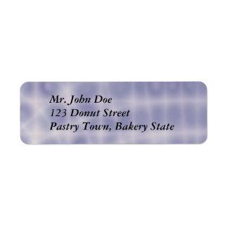 Etiqueta de dirección simple