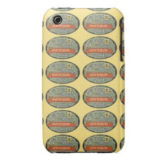Etiqueta de empaquetado de la torta de Shaftesbury Case-Mate iPhone 3 Cobertura