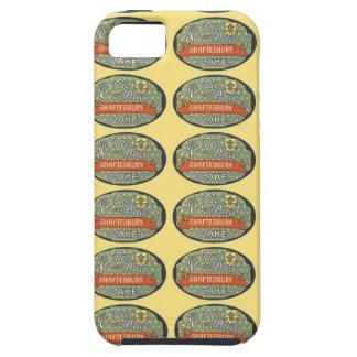Etiqueta de empaquetado de la torta de Shaftesbury iPhone 5 Carcasas