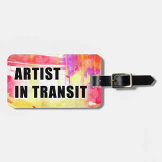 Etiqueta de encargo colorida caliente del viaje de etiqueta para equipaje
