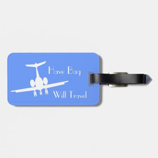 Etiqueta de encargo de la identidad del equipaje
