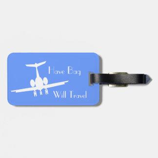 Etiqueta de encargo de la identidad del equipaje d etiquetas para maletas