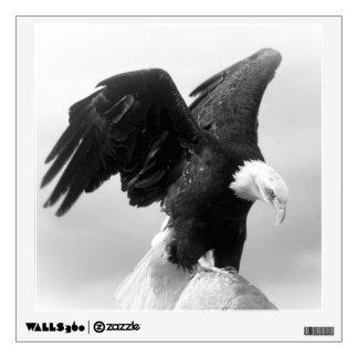 Etiqueta de encargo de la pared/Eagle calvo Vinilo