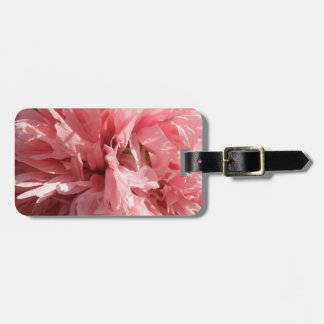 Etiqueta de encargo del equipaje de la amapola ros etiquetas maletas