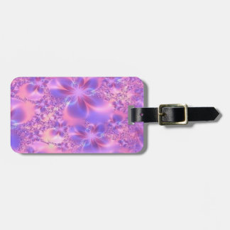 Etiqueta de encargo del equipaje de la flor del fr etiqueta para maleta