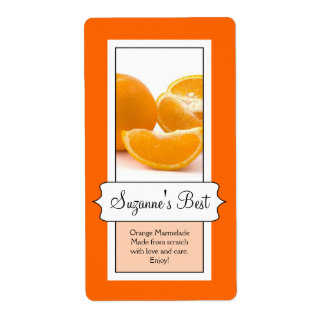 Etiqueta de enlatado personalizada del tarro, nara etiqueta de envío