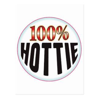 Etiqueta de Hottie Postales