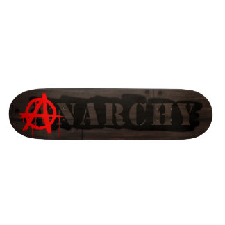 """Etiqueta de la anarquía patineta 7 1/8"""""""