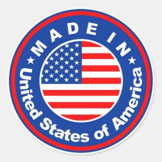 etiqueta de la bandera de país del producto hecha