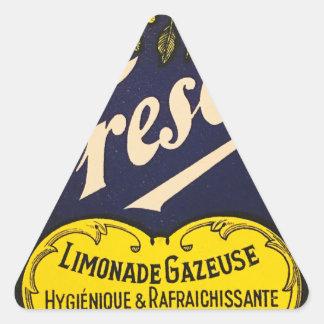 Etiqueta de la bebida del vintage de Limonade