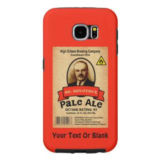 Etiqueta de la cerveza clara de Sr. Molotov Funda Samsung Galaxy S6
