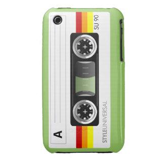 Etiqueta de la cinta de casete Case-Mate iPhone 3 protectores