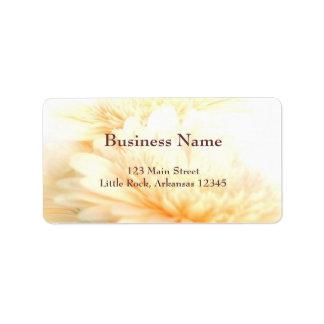 Etiqueta de la dirección comercial etiqueta de dirección
