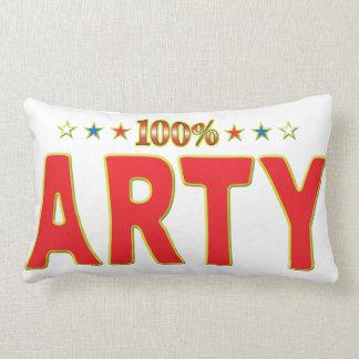 Etiqueta de la estrella de los Arty Almohada