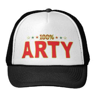 Etiqueta de la estrella de los Arty Gorra