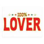 Etiqueta de la estrella del amante