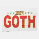 Etiqueta de la estrella del gótico