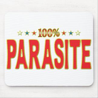 Etiqueta de la estrella del parásito mousepad