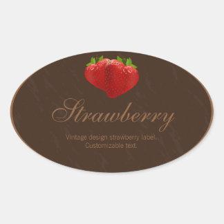 Etiqueta de la etiqueta de la fresa