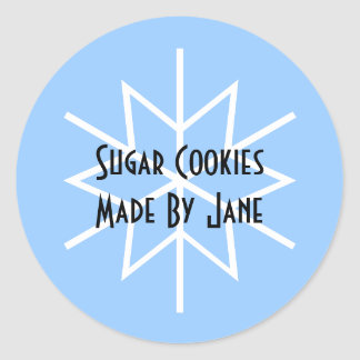 Etiqueta de la galleta del día de fiesta