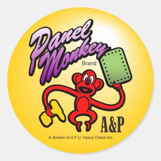 Etiqueta de la marca A&P del MONO del PANEL