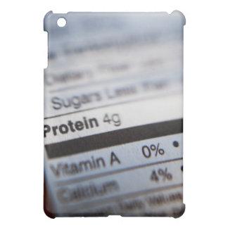 Etiqueta de la nutrición de la comida