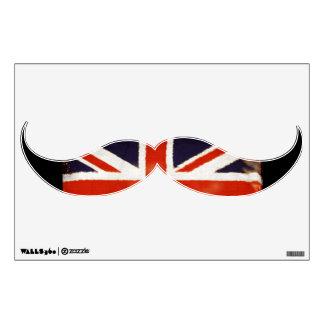 Etiqueta de la pared de la MOD del bigote de Union Vinilo Adhesivo
