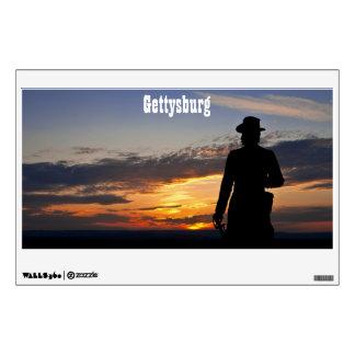 Etiqueta de la pared de la puesta del sol de Getty Vinilo Adhesivo