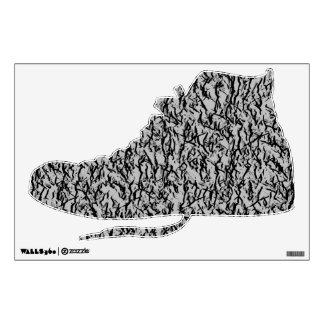 Etiqueta de la pared de la zapato tenis del Hola-T Vinilo Decorativo