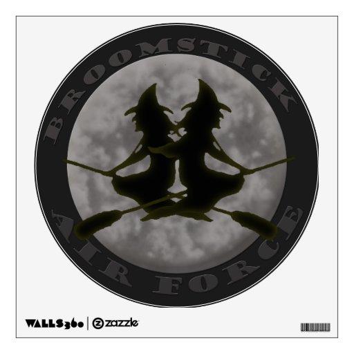 Etiqueta de la pared de las brujas de Halloween Vinilo