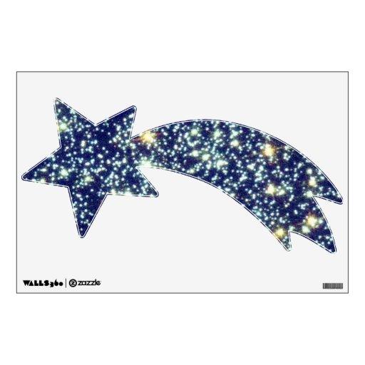 Etiqueta de la pared de las estrellas del atontami