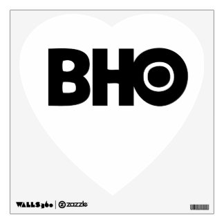 etiqueta de la pared del amor BHO Vinilo