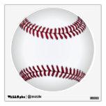Etiqueta de la pared del béisbol