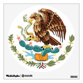 Etiqueta de la pared del escudo de armas de la ban