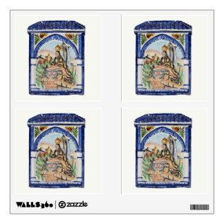 Etiqueta de la pared del Virgen María Vinilo Adhesivo