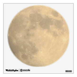 Etiqueta de la pared--Luna de cosecha Vinilo Adhesivo