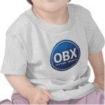Etiqueta de la playa de OBX Camiseta