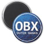 Etiqueta de la playa de OBX Imanes