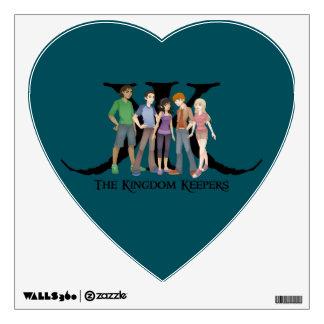 Etiqueta de la ventana del carácter del corazón KK