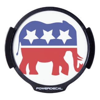 Etiqueta de la ventana del Partido Republicano LED Pegatina LED Para Ventana
