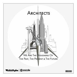 Etiqueta de los arquitectos Walls360 Vinilo Decorativo