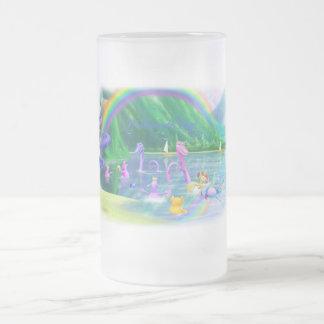 ¡Etiqueta de Malamite! Taza De Cristal