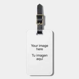 Etiqueta de maletas de diseño personalizado etiqueta de maleta