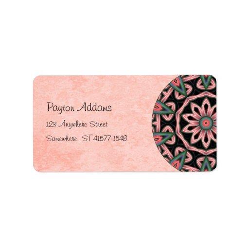 Etiqueta de menta de Avery de la dirección de la m Etiqueta De Dirección