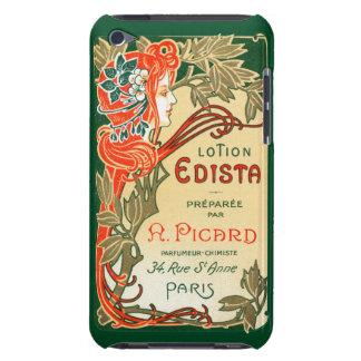 Etiqueta de Nouveau del arte de 1910 franceses Case-Mate iPod Touch Carcasas