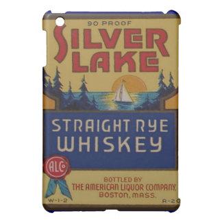 Etiqueta de plata del arte del alcohol del vintage