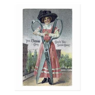 Etiqueta del anuncio la postal del Victorian del